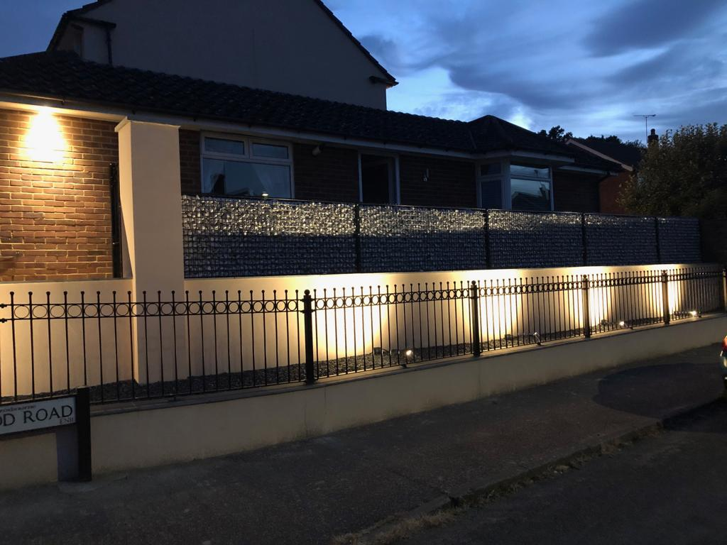 Front Garden Lighting