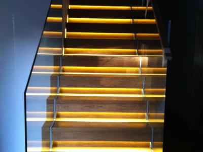 Staircase / Stairwell lighting installation in Brighton and Hove